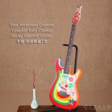 Tom Anderson Custom Graphic Icon Classic Rocky Electric Guitar 全球限量1支(店主收藏 非卖展示)