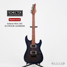 Schecter Masterwork M16-1201 SS CTM II BC LACEWOOD