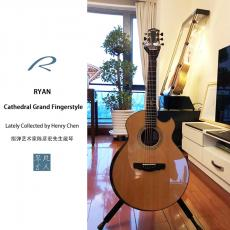 (现货臻藏) Kevin Ryan Cathedral Grand Fingerstyle 大教堂